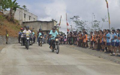 Bupati Ajak Forkopimda, OPD dan Masyarakat Touring Motor ke Jalan Duren